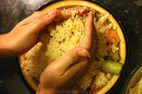 Moroccan Chicken Couscous With Seven Vegetables: La Maison Arabe Dadas' Recipe