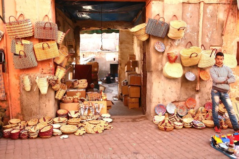 Shopping in Morocco: Babouches and Beach Straw Totes