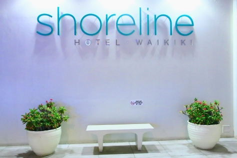 Shoreline Waikiki Hotel- Our Home in Honolulu, Hawaii