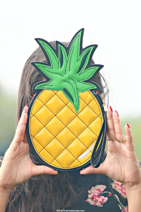Tropical fruit clutch is a must-have accessory for a tropical beach holiday