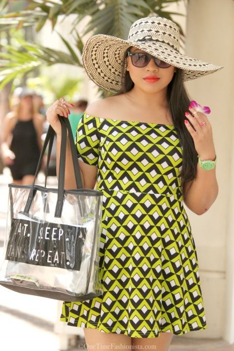 A Skater Dress, A Statement Hat, A Perfect Look