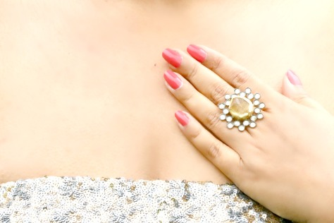 The Global Empress Citrine Ring