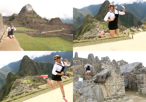 Oh Yeah!  Jumping is still PROHIBITED in Machu Picchu;)