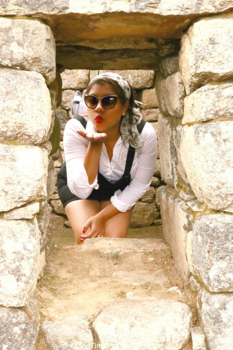 A kiss from the majestic Machu Picchu...for you all