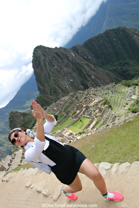 The unfathomable beauty of Machu Picchu brings out the yogi in you, literally;)
