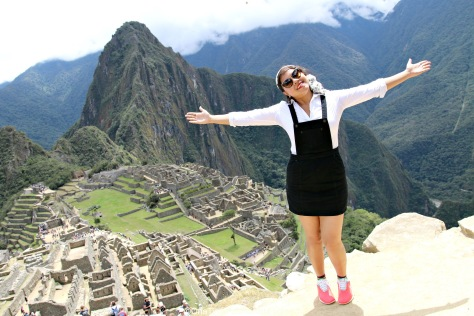 Counting my blessings for this lifetime opportunity of visiting Machu Picchu