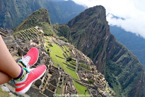 Good shoes & socks take you to great places