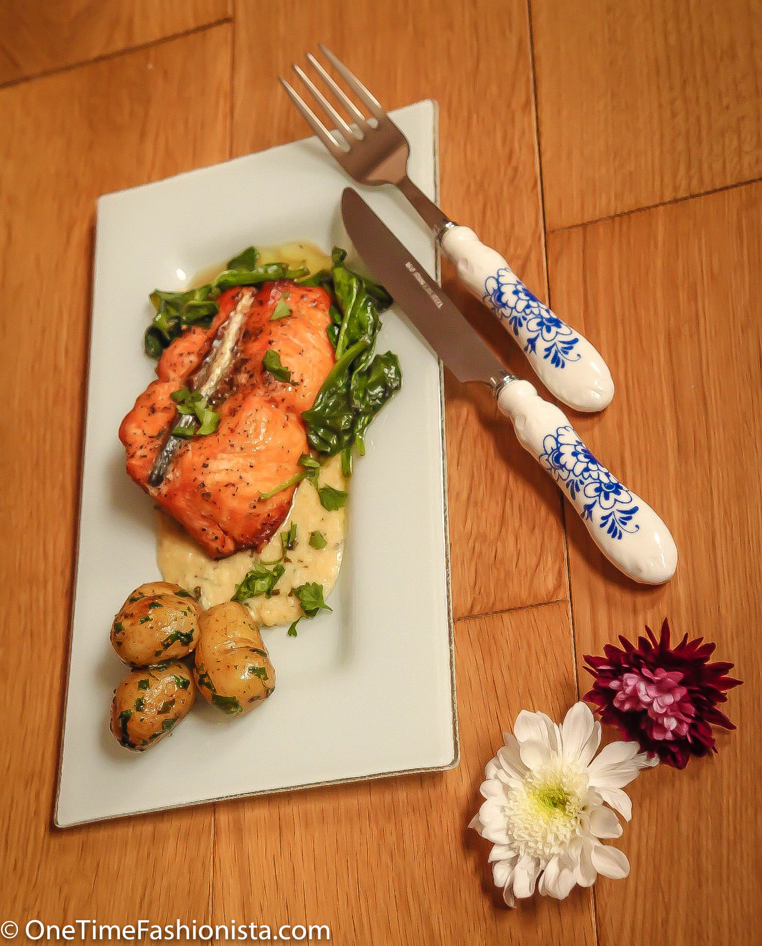 how to make salmon with lemon butter sauce