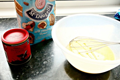 The Lure Of Chocolate Pudding With Custard Coating