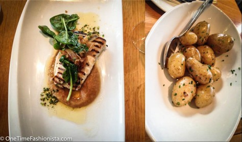 Inspiration for my cooking this dish: The white fish and sauteed potatoes served to me at the Pascal Mat & Vin Restaurant in Bergen, Norway