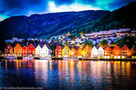 No way, but Norway: Sleepy Bryggen and the Insomniac Bergen Sky