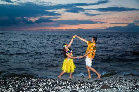 There is not only dance, but the whole culture of Hawaii is in the Hula