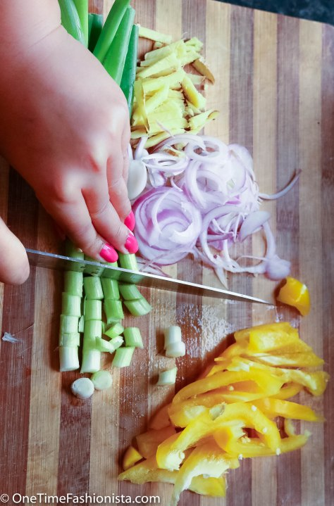 Lemon-Ginger Stir Fry Chicken & Vegetables