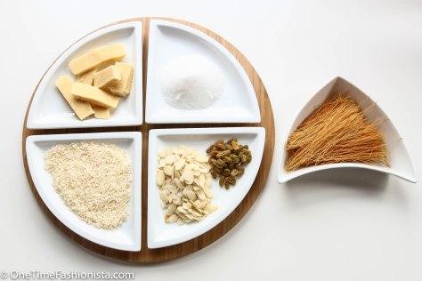 Key ingredients for Zarda Sevaiyaan