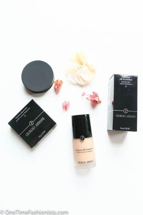 Silk Skin with Georgio Armani Luminous Silk Foundation and Powder