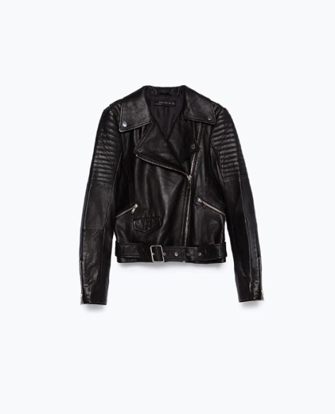 Trusted leather jacket- perfect piece for transeasonal style