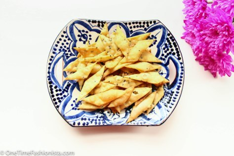 Namak Para: Rain or not, easy to make, easy to munch