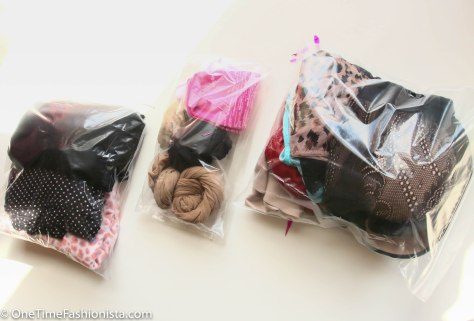 Pack all small items like undergarments, socks and nightwear in separate transparent zip-lock bags so that you don't waste time searching for them in your suitcase