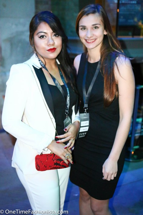 With the PR and Production Manager of OFS Lydie