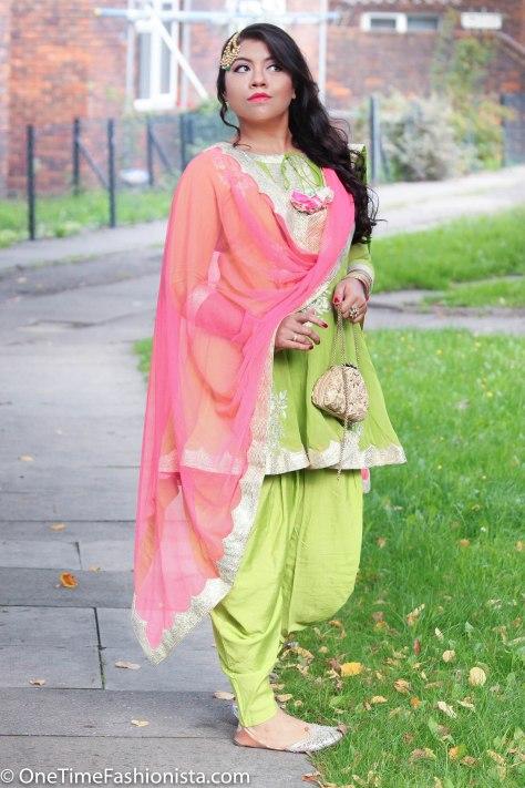 Eid Look: Wearing Amrita Thakur and Ra Abta by Rahul