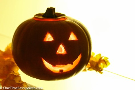 Time to place candles, small flashlights, or battery-operated light sources inside your pumpkin