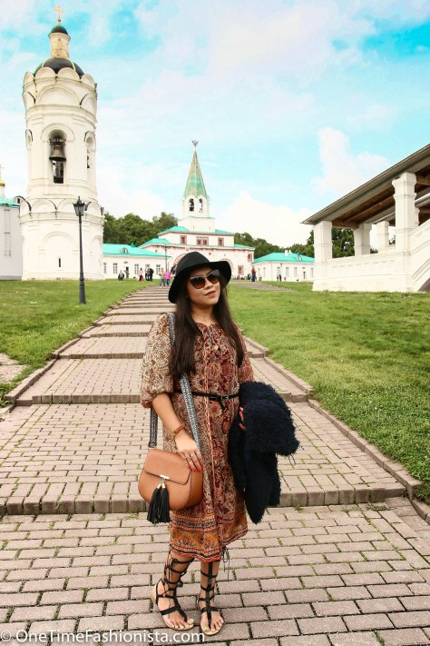 In the Klomenskoye park- where you find architecture from different eras in an open-air museum