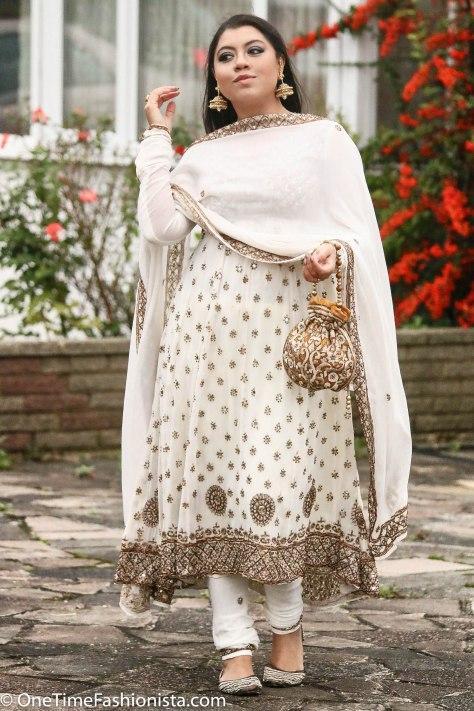 Diwali Look: Embellished Elegance in Anarkali