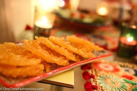A Festive Arrangement for Diwali