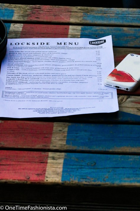 Lockside Bar & Kitchen pride themselves with home cooked food, seasonal food menu, combining the feshest local ingredients with favourite recipes from the UK and US to come up with traditionals menus with a contemporary twist
