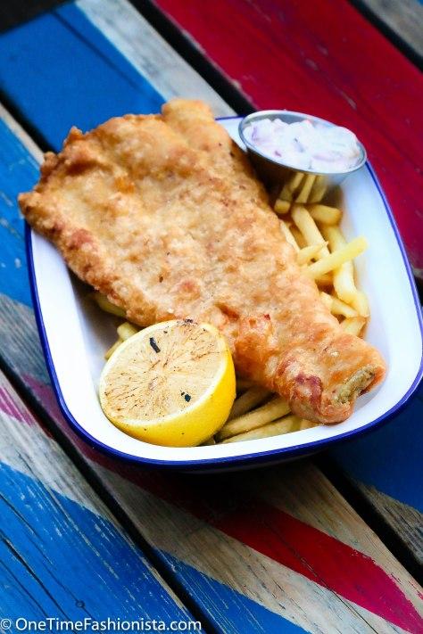 Tanusree's top favourite British food: Fish n Chips