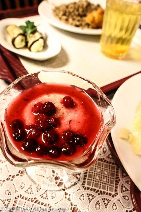 Vatrushka with Cherries