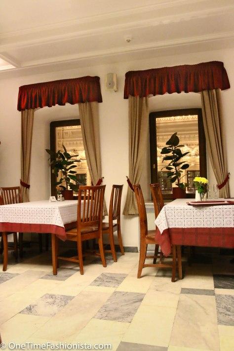 Interior of Cafe Stolovaya №57