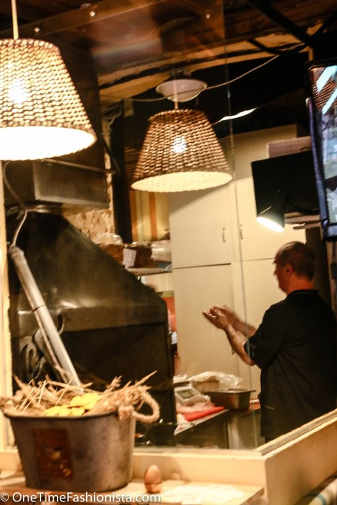 Open Kitchen will ensure you catch a glimpse of your kebab getting grilled on charcoal