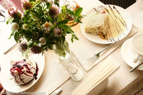 Desserts: Eton Mess and Fillo Pastry