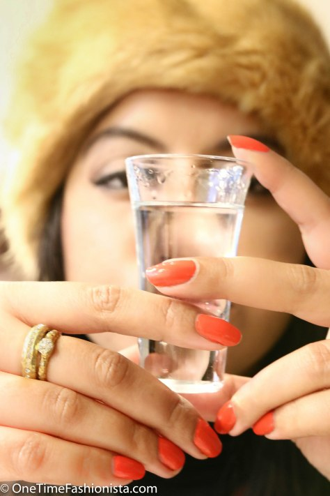 If you drink enough Vodka it tastes like love