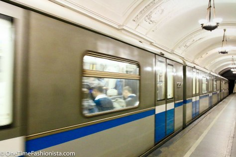 Some of the Saint Petersburg Metro Trains looks brand new
