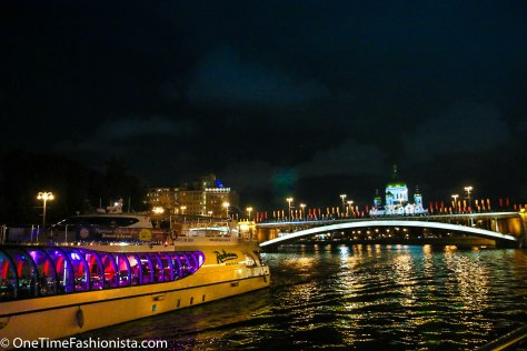 Another Year Wiser Sailing On River Moskva in Moscow
