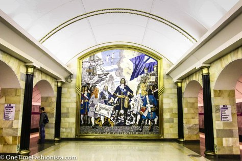 7 Jewels of the Crown of Russian Metro: The Beautiful Palaces of People