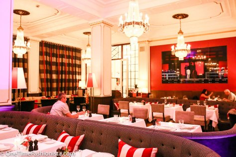 The modern interior and cuisine, with a mix of trendy recipes and traditional Russian dishes, makes for a perfect relaxed dinner after a day out sight-seeing