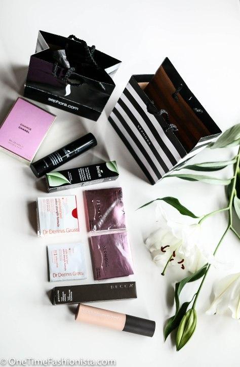 October Beauty Haul: Chanel, Sephora, Boscia and Becca Cosmetics