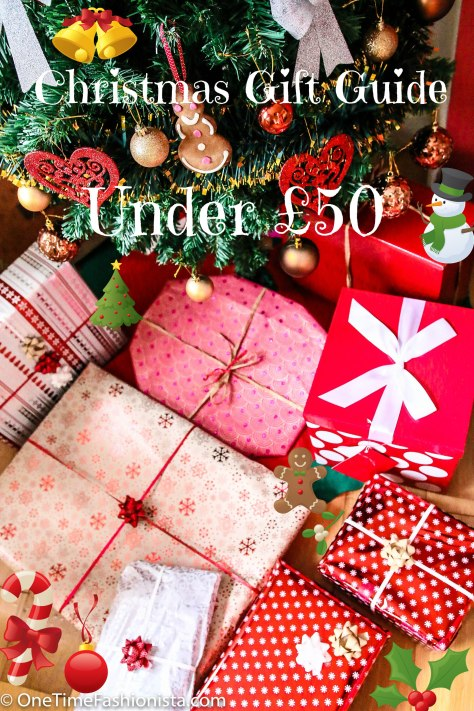 Last minute Christmas Gift Guide Under £50