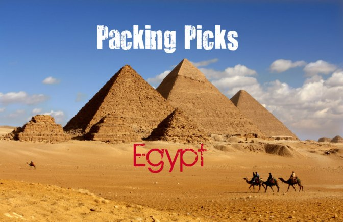 Packing Picks for Egypt