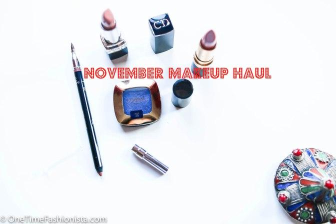 November Make UP Haul: Dior, Revlon and L'oreal