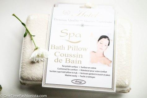 Bath Pillow from TK Maxx