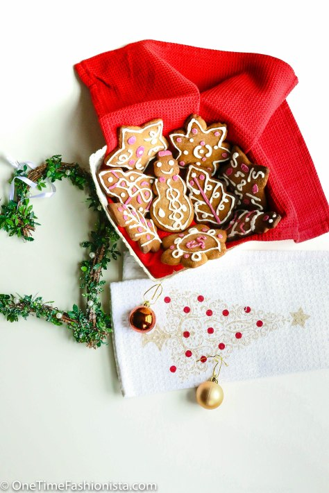 Edible Gingerbread Christmas Tree Decorations : Gingerbread cookies homemade christmas presents and tree