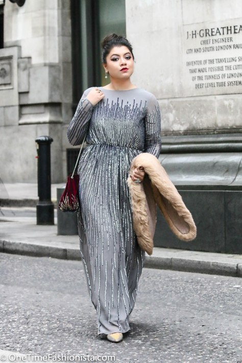 Christmas Party Look: Glam Up With Sequins, Metallics and Faux-Fur