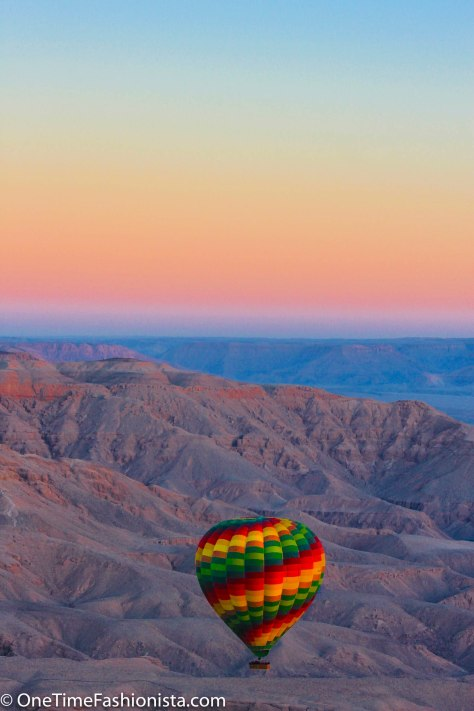 Sindbad Hot Air Baloon Ride over the valley of kings and queens, sugar cane fields, Nile river and countrysides of Luxor