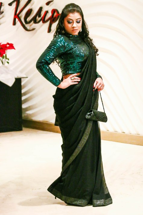 Tanusree's NYE party look de la nuit