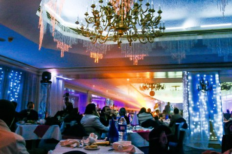 New Year Eve party at the banquet hall of Le Meridien Pyramids Hotel & Spa