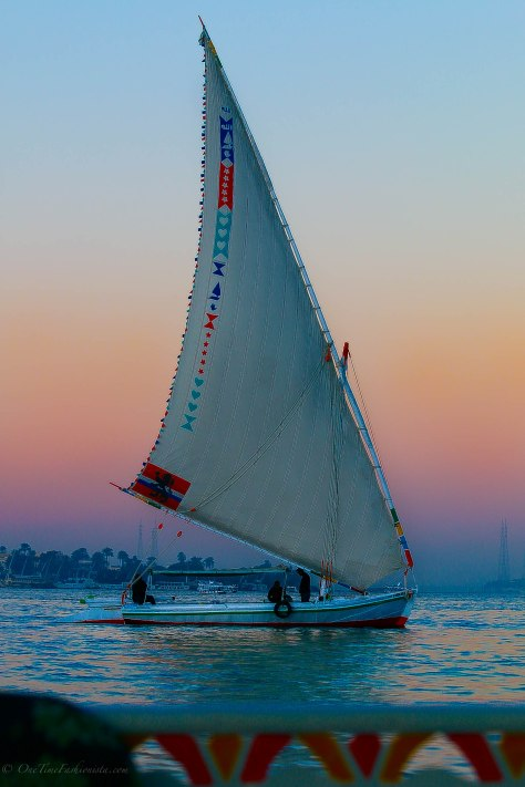 Felucca ride on Nile River